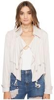 BB Dakota Herring Drape Front Blazer Women's Jacket