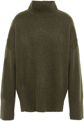 Frame Wool-blend Turtleneck Sweater