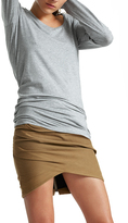 White + Warren Cotton Modal Scoopneck Tunic