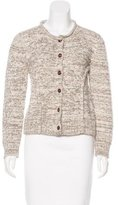 Rachel Comey Alpaca-Blend Patterned Cardigan