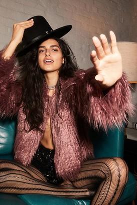 Free People Peyton Faux Fur Coat