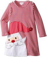 Mud Pie Santa Stripe Dress (Toddler)