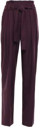 Victoria Victoria Beckham Victoria, Victoria Beckham Wool-blend Pique Wide-leg Pants