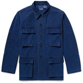 Blue Blue Japan Indigo-Dyed Cotton Shirt Jacket