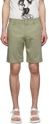 Paul Smith Green Cotton Shorts