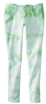 Mossimo Juniors Skinny Tie Dye Denim - Assorted Colors