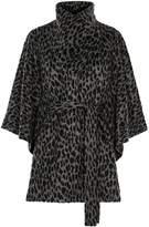 Coast Valera Leopard Print Cape Coat