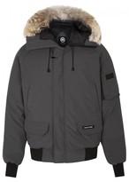 Canada Goose Chilliwack Grey Fur-trimmed Jacket