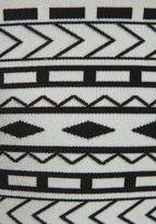 Torn By Ronny Kobo Michaela Tank Top in White/Black