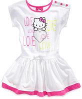 Hello Kitty Girls Dress, Little Girls Love Dress