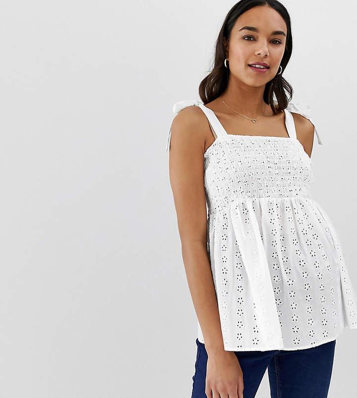 e1cb13c9bd56b Asos White Maternity Tops - ShopStyle