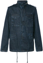 PRPS multiple pockets denim jacket - men - Cotton - XL