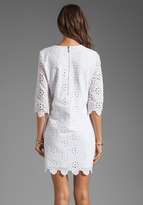 Dolce Vita Charlene Daisy Embroidery Long Sleeve Dress