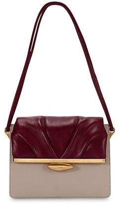 Reike Nen Pebble Midle Bicolor Leather Bag