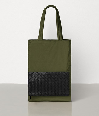 Bottega Veneta Tote In Light Paper Nylon