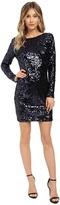 Jessica Simpson Long Sleeve Sequin Dress