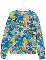 Paul Smith TEEN toucan print sweatshirt