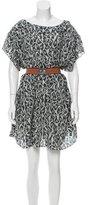 Suno Printed Silk Dress w/ Tags