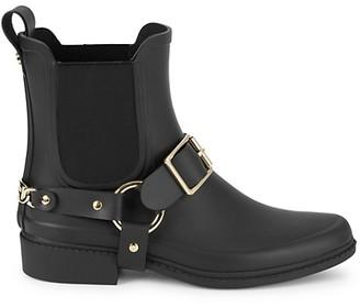 Karl Lagerfeld Paris Lavali Rubber Chelsea Rain Boots