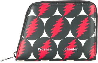 Proenza Schouler Grateful Dead Trapeze Zip Wallet
