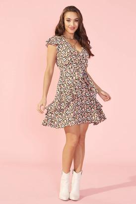 MinkPink Good Girls Floral Mini Dress Multi L