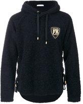 Pierre Balmain boucle hoodie