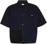 Oamc Cascade Cotton Short-Sleeve Shirt
