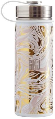 Pottery Barn Teen Marble Blush Gold Slim Water Bottle