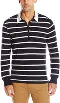 Dockers Thin Stripe L/S Sueded Jersey Rugby
