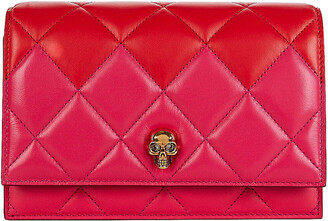 Alexander McQueen Small Two-Tone Quilted Crossbody Bag