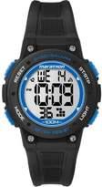 Timex Marathon by Unisex Digital Mid-Size Watch, Black Resin Strap