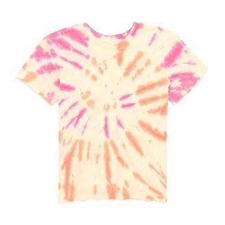 Hurley Women's W Tie Dye Gf Crew Tee T-Shirt