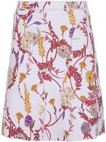 Giambattista Valli floral print fitted skirt