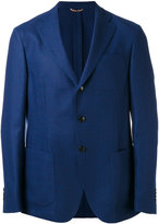 Etro three button blazer - men - Silk/Cashmere - 50