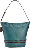 Tignanello Classic Boho Vintage Leather Bucket Bag