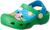 Crocs Boy's Kids Creative Barnyard Ankle-High Rubber Flat Shoe - 10M