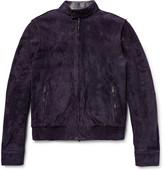 Tod's - Iconic Suede Bomber Jacket