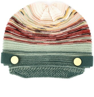 Missoni Knit Hat with Brim