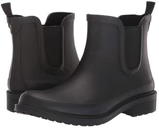Madewell The Chelsea Rain Boots (True Black) Women's Rain Boots