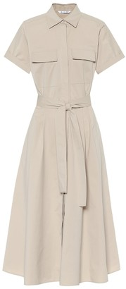 Loro Piana Julia stretch-cotton midi dress