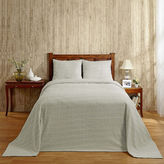 Asstd National Brand Better Trends Natick Chenille Bedspread
