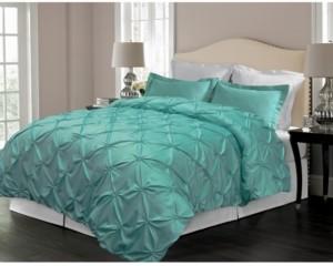 Blue Ridge Pintuck Design Down Alternative Comforter, King Bedding