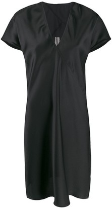 Rick Owens Satin Shift Dress