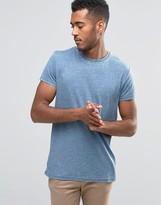 Brave Soul Plain Burnout T-Shirt