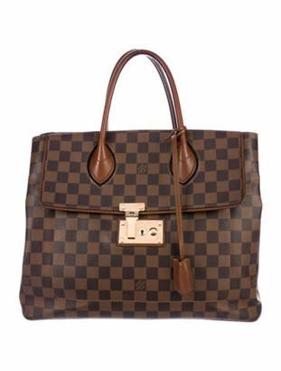 Louis Vuitton Damier Ebene Ascot Bag Tan