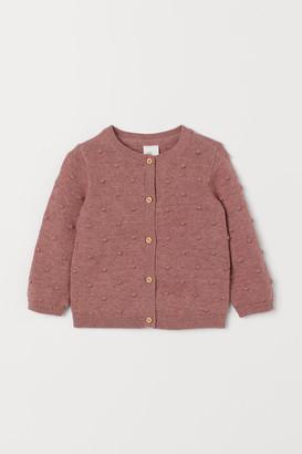 H&M Textu-knit cardigan