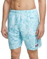 Vineyard Vines Nautical Island Map Swim Trunks