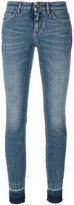 Dolce & Gabbana skinny fit jeans - women - Cotton/Spandex/Elastane/Calf Leather - 36