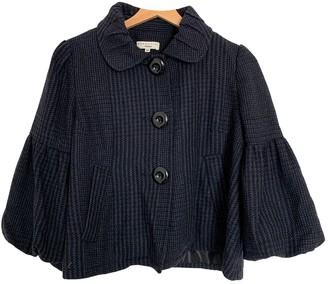 Essentiel Antwerp Navy Wool Jackets