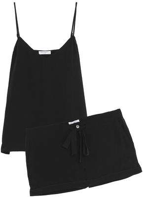 Equipment Layla Washed-silk Pajama Set